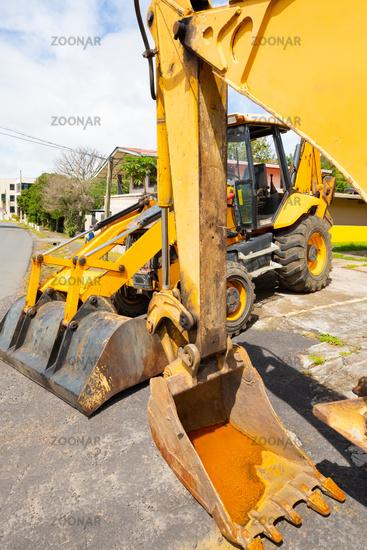 Panama Boquete earth moving machines