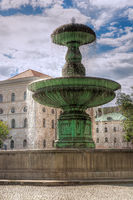 Fountain at the Munich University