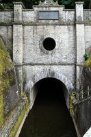 Ship tunnel in Weilburg an der Lahn