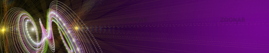 Futuristic particle stripe panorama background design illustration with lights