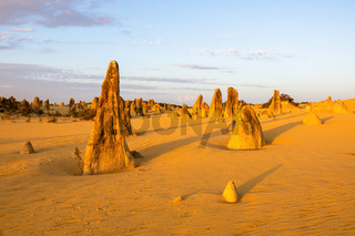 Pinnacles Desert in western Australia