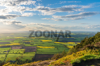 View from the Wrekin, Shropshire, England, UK