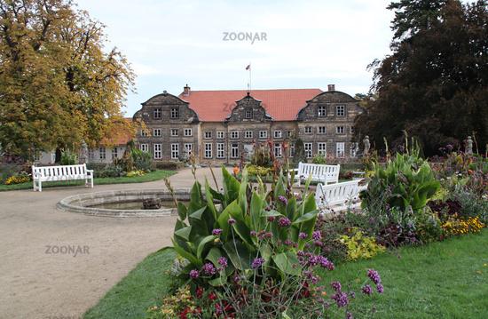 The castle garden in Blankenburg