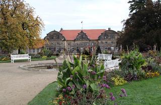 Der Schlossgarten in Blankenburg