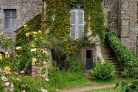 Brittany Monastery garden