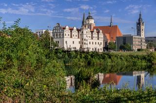 Dessau-Roßlau Panorama im Sommer - Sachsen Anhalt