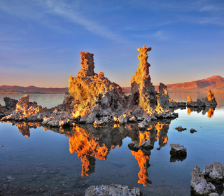 Mono Lake - a natural wonder in the United States