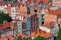 Houses in Old Town of Gdansk