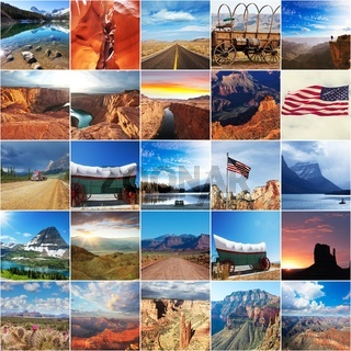 American collage