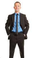Mann im Anzug als Business Portrait