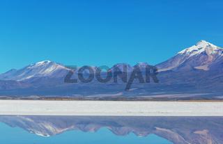 Salar in Bolivia