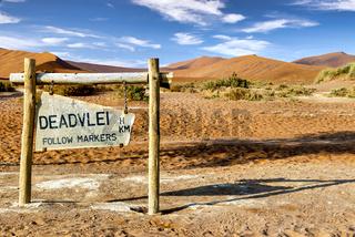 Namibia, Africa. Deadvlei
