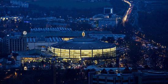 Westfalenhalle, Dortmund, Germany.