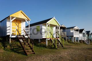 Beach Huts in Old Hunstanton