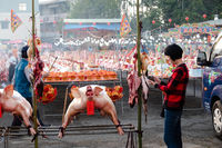 Shuili taoism carnival and sacrifice