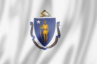 Massachusetts flag, USA