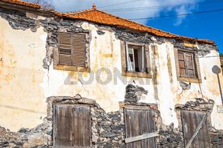 Lost Place, Ruine, verlassenes Gebaeude in Canico, Madeira