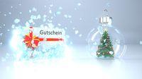 Splintered Ice Gutschein Christmas Tree Snow Ball