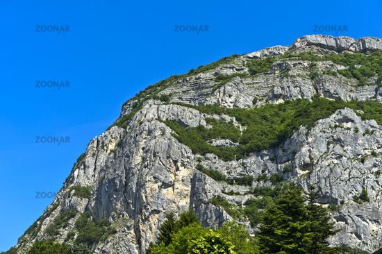 Top of the Salève massif, Collonges-sous-Saleve, Haute-Savoie, France