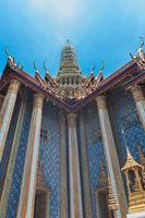 Bangkok kings palace ancient temple in thailand.
