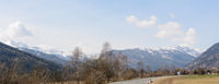Panoramic view in the Salzburg Lungau - Austria