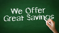 We offer Great Savings Chalk Illustration