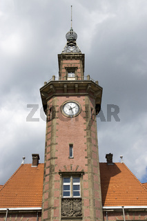 Altes Hafenamt im Dortmunder Kanalhafen, Deutschland
