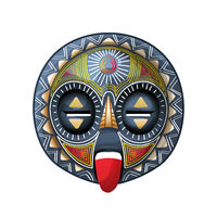 African tribal mask 1