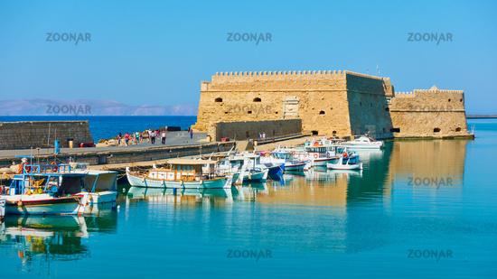 Old venetian fortress in Heraklion