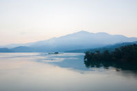 famous Sun Moon Lake landscape