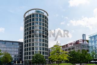 Luxury new residential buildings in HafenCity Area of Hamburg