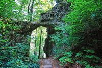Das Felsentor von Emmendorf