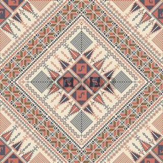 Palestinian embroidery pattern 308