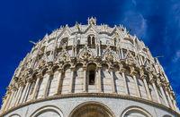 Baptistery in Pisa Italy