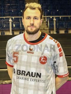 Julius Kühn, MT Melsungen,  Liqui Moly HBL, Handball-Bundesliga Saison 2019-20