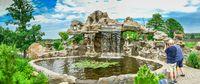 Park Sakura Island in Volodarka village, Ukraine