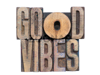 good vibes isolated