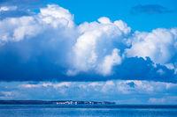 Blick auf Kühlungsborn an der Küste der Ostsee in Nienhagen