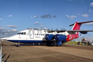 British Aerospace Avro RJ70, G-ETPK, Empire Test Pilots School, QinetiQ
