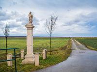 Column with saint at a waycross