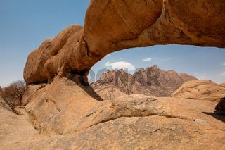 Group of bald granite peaks, Spitzkopp, Namibia