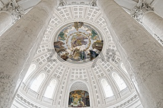 Domkuppel mit den Säulen Dom St.Blasien Schwarzwald