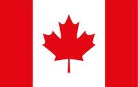 National flag of canada. Vector illustration on white