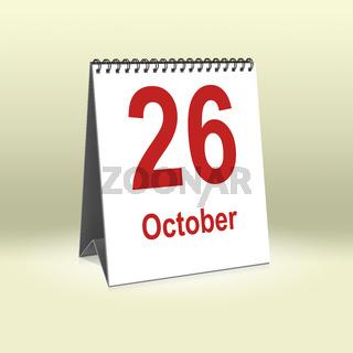 October 26th   26.Oktober