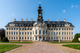 the Hubertusburg Castle in Saxony
