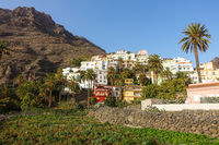 Valle Gran Rey on the island of La Gomera