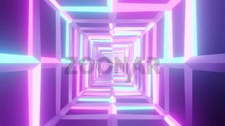 Varicolored Vibrant Shape Illumination 4k uhd 3d illustration background