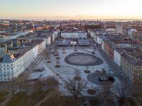 Israels Plads in Copenhagen, Denmark