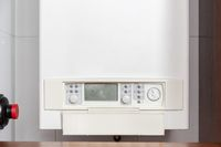Gas water heater controlling panel