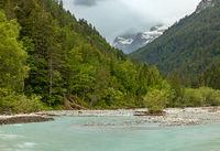 At Hornbach creek in Tyrol, Austria